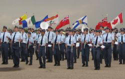 cadet flag ceremony