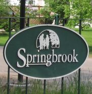 Tamarac Blvd entrance Springbrook